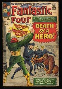 Fantastic Four #32 VG- 3.5