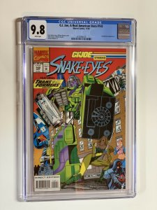 G.i. Joe A Real American Hero 142 Cgc 9.8 Wp Marvel Transformers