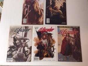 El Cazador 1-5 Near Mint Set Lot