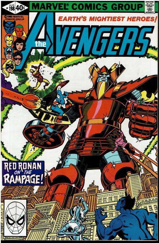 Avengers #198, 9.0 or Better