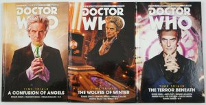 Dcotor Who: The Twelfth Doctor: Time Trials HC #1-3 VF/NM complete series year 3