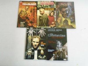 Hellblazer TPB lot 5 different John Constantine books avg 8.0 VF