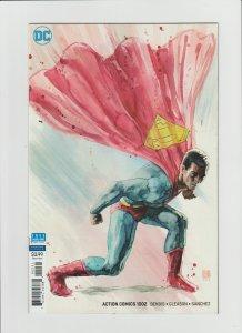 Action Comics #1012 NM- (2018, DC Comics) David Mack Variant Cover!!