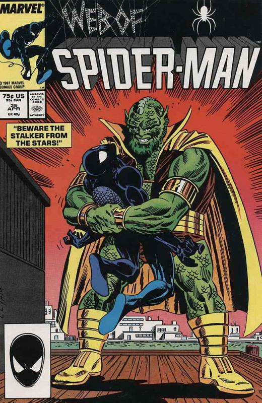 Web of Spider-Man, The #25 FN; Marvel | save on shipping - details inside
