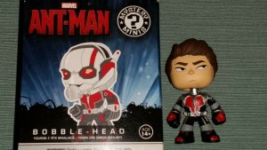 Ant-Man Unmasked MYSTERY MINI Bobble Head FUNKO MARVEL COLLECTOR CORPS EXCLUSIVE