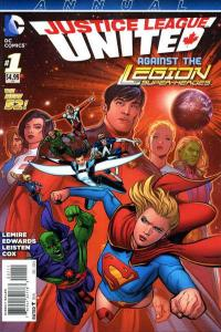 Justice League United Annual #1, NM (Stock photo)