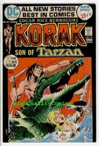 KORAK, Son of TARZAN #47 48 49, Edgar Rice Burroughs, Joe Kubert, Carson, Venus