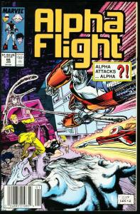 ALPHA FLIGHT #66-MARVEL COMICS-MUTANTS!-JIM LEE NM