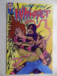 WHISPER # 25 FIRST COMICS FANTASY ACTION ADVENTURE