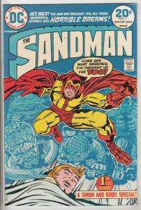 Sandman, the Jack Kirby #1 (Sep-74) VF/NM High-Grade Sandman