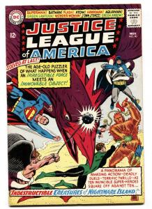 JUSTICE LEAGUE OF AMERICA #40 1965-DC COMICS PENGUIN  FN+