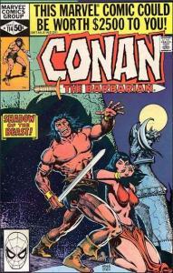 Marvel CONAN THE BARBARIAN (1970 Series) #114 VF