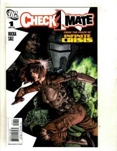 10 Checkmate DC Comics # 1 2 3 4 5 6 8 9 10 11  EK13