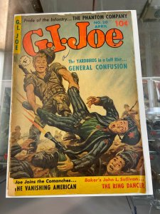 G.I. Joe 20 PR/FR Painted Cover