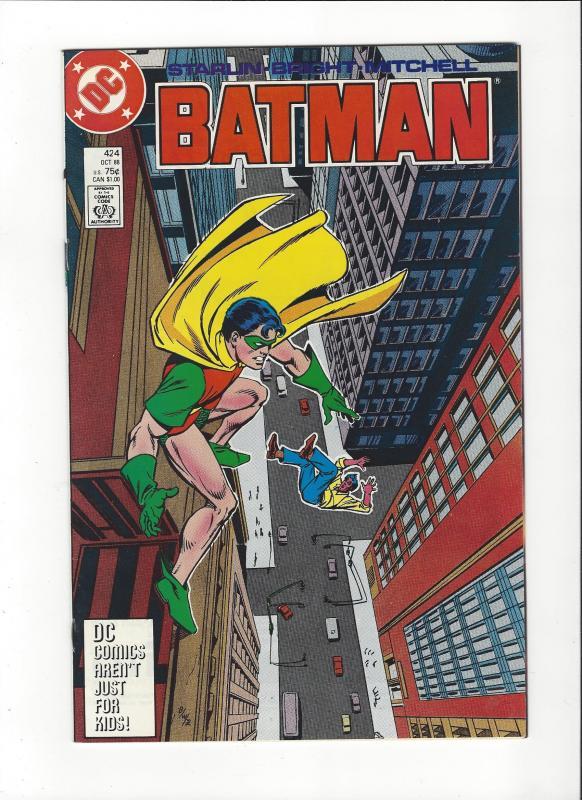 Batman #424 Starlin Robin Kills NM