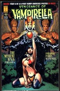 Vengeance of Vampirella #19  Polybagged/Card ( 1995, Harris)  9.2 NM-