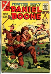 Frontier Scout Daniel Boone #14 1965-Charlton-variant cover-2nd printing-VG