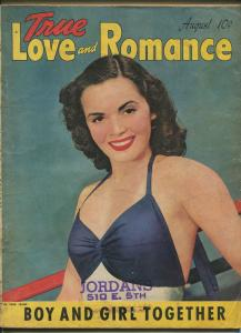 TRUE LOVE AND ROMANCE 08/1942-EXPLOITATION-CRIME-SCANDAL-LI'L ABNER-good