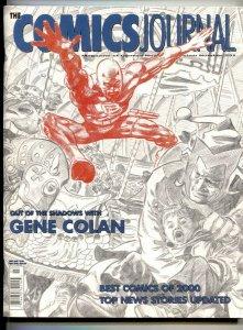 Comics Journal #231 2001- GENE COLAN-