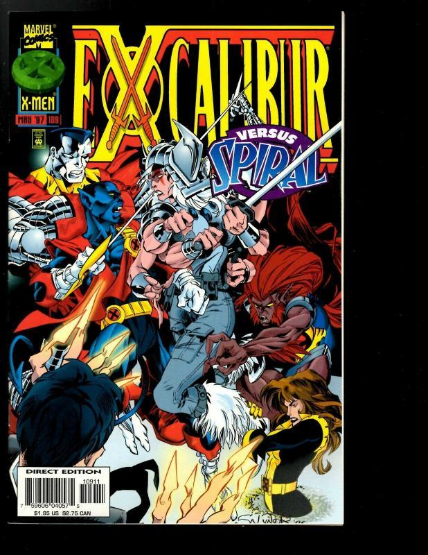 10 Excalibur Marvel Comics # 95 100 101 102 103 104 105 106 107 108 109 110 JF26