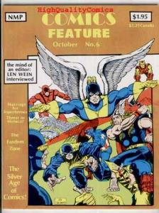 COMICS FEATURE #6, VF, X-Men vs Avengers, Len Wein, 1980, Fandom Zone