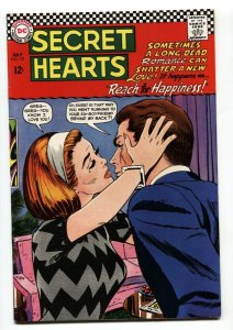 SECRET HEARTS #121-1967-REACH FOR HAPPINESS-DC VF/NM