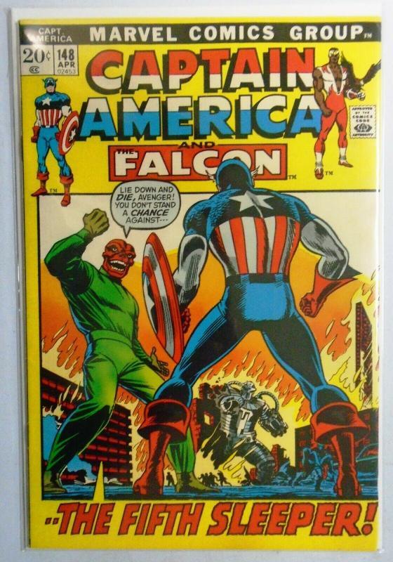 Captain America (1st Series) #148, 7.0 (1972)