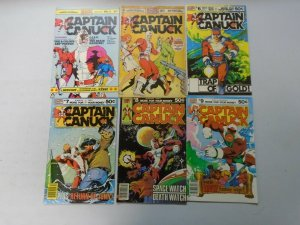 Captain Canuck lot 11 different from #2-14 6.0 FN (1975-81 Comely Comix)