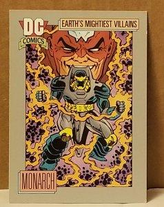 1991 DC Cosmic Card #100 Monarch