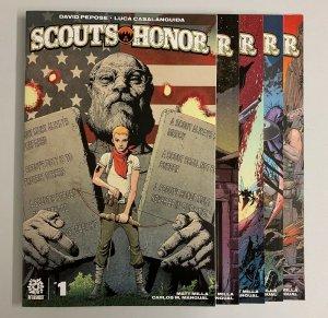 Scout's Honor #1-5 Set (Aftershock 2021) 1 2 3 4 5 David Pepose (9.0+)