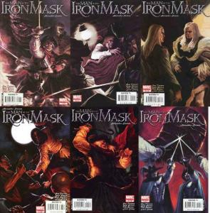 MAN IN THE IRON MASK (2007 MARVEL ILLUSTRATED) 1-6
