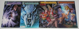 Homecoming #1-4 VF/NM complete series - B variants - aspen comics set lot 2 3