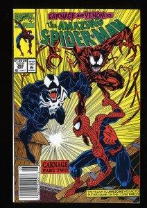 Amazing Spider-Man #362 NM+ 9.6 2nd Carnage!