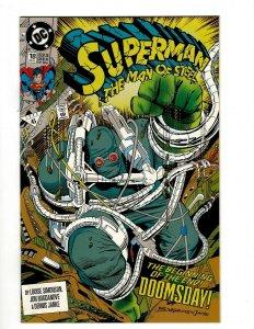 Superman Man Of Steel # 18 NM DC Comic Book Doomsday Batman Justice League OF2