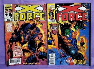 John Francis Moore X-FORCE #82 & 83 Jim Cheung 1st Argos Hunter (Marvel, 1998)!