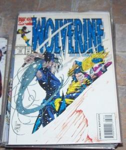 Wolverine #78 (Feb 1994, Marvel) cylla+ bloodscream