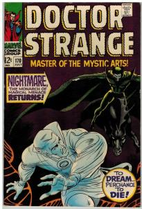 DOCTOR STRANGE 170 FN+ July 1968 Colan COMICS BOOK