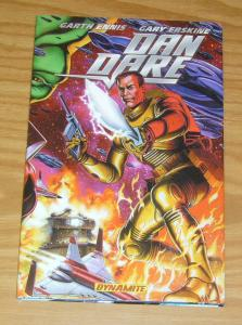 Dan Dare HC VF/NM gary erskine GARTH ENNIS dynamite hardcover collects 1-7