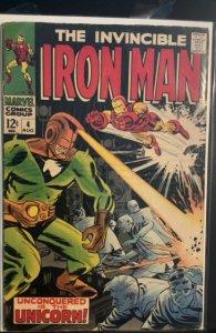 Iron Man #4 (1968)