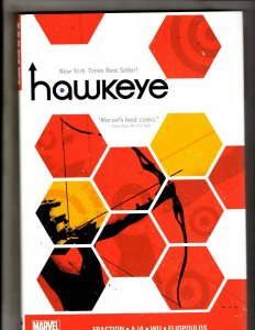 Hawkeye Vol. # 2 Marvel Comics HARDCOVER Graphic Novel Book Fraction AJA HR8