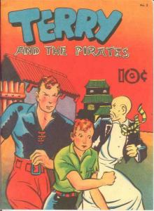 TERRY & THE PIRATES 2 (1983 RAIOLA) VF Reprints