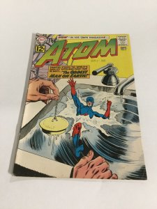 The Atom 2 Fn Fine 6.0 DC Comics Silver Age
