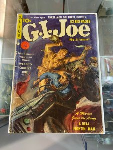 G.I. Joe 8 FR Painted Cover
