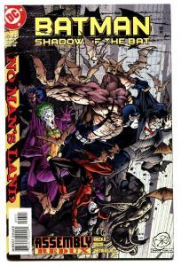 BATMAN: SHADOW OF THE BAT #93 Harley Quinn cover. DC comic book