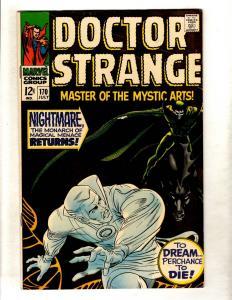 Doctor Strange # 170 NM- Marvel Comic Book Master Mystic Arts Avengers  FM3