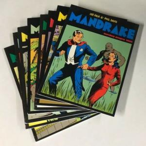 Lee Falk Mandrake Sundays Volumes 1 2 3 4 5 6 7 8 New Comics Now Vf B25