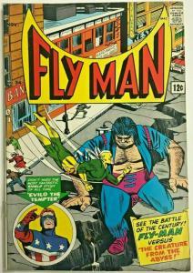 FLY MAN#34 VG/FN 1965 RADIO COMICS SILVER AGE COMICS