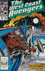 West Coast Avengers #29 FN; Marvel   save on shipping - details inside