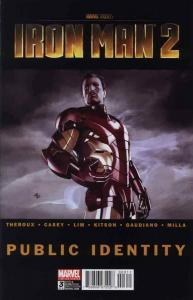 Iron Man 2: Public Identity #3 VG; Marvel | low grade comic - save on shipping -