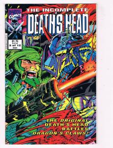 The Incomplete Deaths End #3 FN/VF Marvel Comics Comic Book Mar 1992 DE39 AD12
